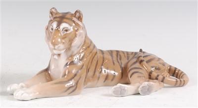 Lot 21-A Royal Copenhagen large porcelain model of a...