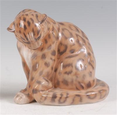 Lot 25 - A Royal Copenhagen large porcelain model of a...