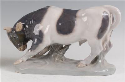 Lot 32 - A Royal Copenhagen large porcelain model of a...