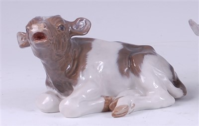 Lot 38 - A Royal Copenhagen porcelain model of a...