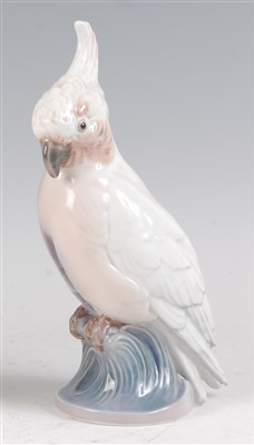 Lot 49 - A Royal Copenhagen porcelain model of a...