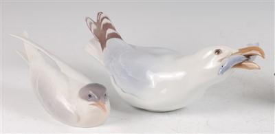 Lot 52 - A Bing & Grondhal porcelain model of a large...