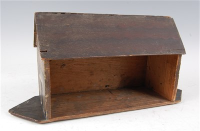 Lot 1297-A Victorian painted wood Noah's Ark, made...