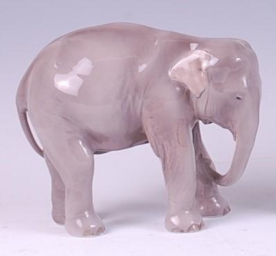 Lot 54 - A Royal Copenhagen porcelain model of a...