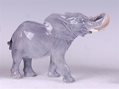 Lot 55 - A Royal Copenhagen porcelain model of a...