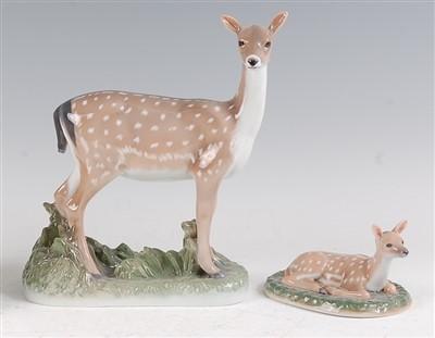 Lot 59 - A Royal Copenhagen large porcelain model of a...