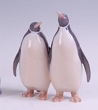 Lot 63 - A Royal Copenhagen porcelain model of a pair...