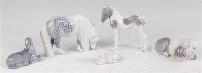 Lot 67 - A Royal Copenhagen porcelain model of a...
