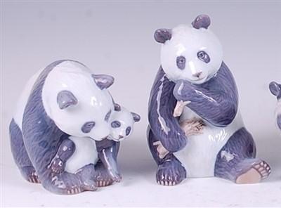 Lot 71 - A Royal Copenhagen porcelain model of a Panda...