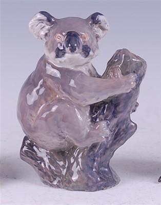 Lot 75 - A Royal Copenhagen porcelain model of a Koala...