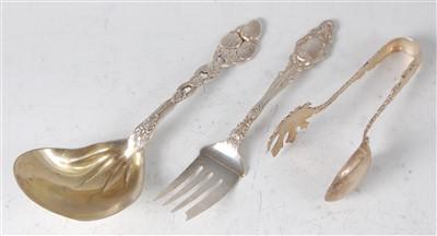 Lot 1154 - A circa 1900 Tiffany & Co sterling silver...