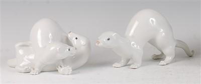 Lot 82 - A Royal Copenhagen porcelain model of a pair...