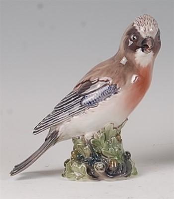 Lot 85 - A Dahl Jensen Copenhagen porcelain model of...