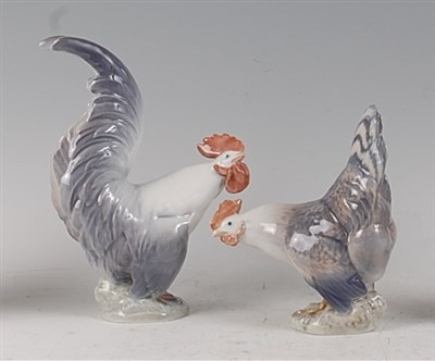 Lot 86 - A Royal Copenhagen porcelain model of a...