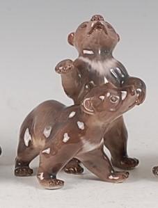 Lot 91 - A Dahl Jensen Copenhagen porcelain model of...