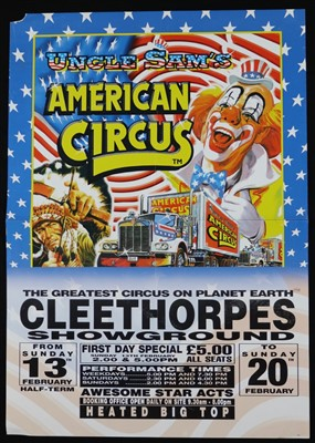 Lot 5-Gerry Cottle's circus posters, 1970's and 1980's...