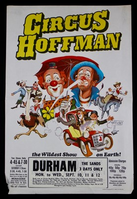 Lot 15-Circus Hoffman family posters (2)