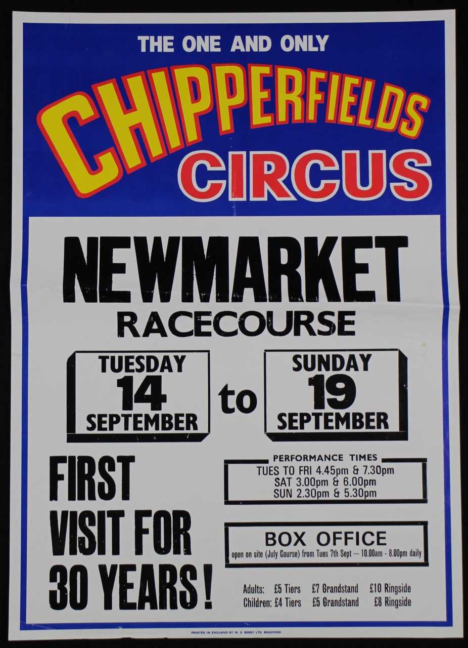 Lot 24-Chipperfield's circus, 1970's (3)