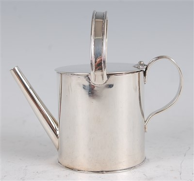 Lot 1097 - A mid-Victorian silver miniature watering can,...