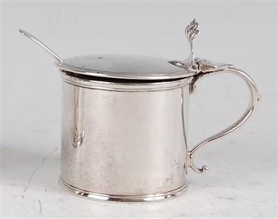 Lot 1103 - A George III silver mustard pot, of...