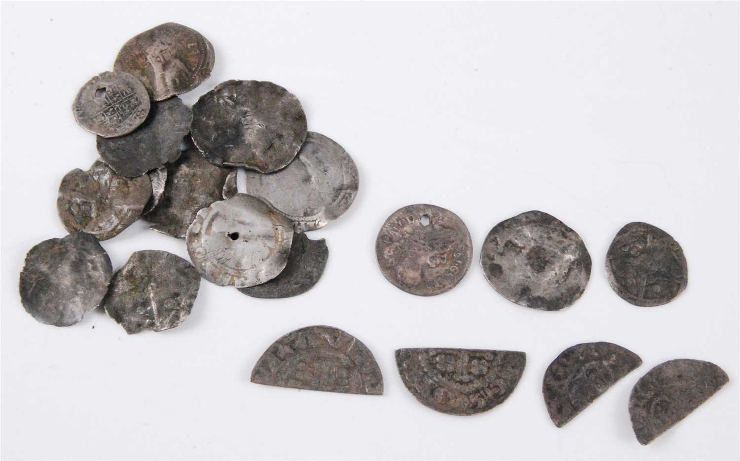 Lot 2074 - England, a collection of mainly English hammered silver coins