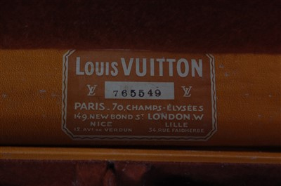 Lot 420-Louis Vuitton - an early 20th century canvas,...