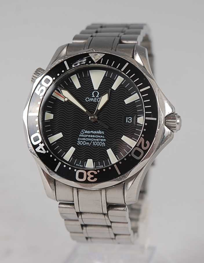 Lot 1254-A gent's Omega Seamaster Professional...