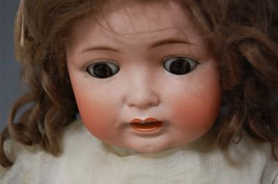 Lot 2009-A Yohann Daniel Kestner German bisque head doll,...