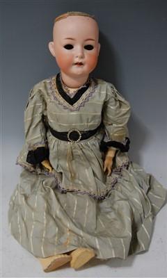 Lot 2035-A Seyfarth & Reinhardt bisque head doll, having...