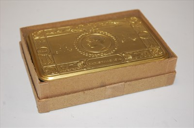 Lot 12 - A WW I Princess Mary Christmas gift tin and...