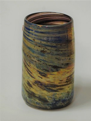 Lot 24-an Annette Meech studio glass vase with trailing...
