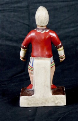 Lot 330-Joseph Grimaldi pottery figure (1)