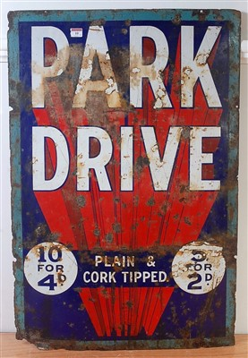 Lot 10-An original early 20th century Park Drive...