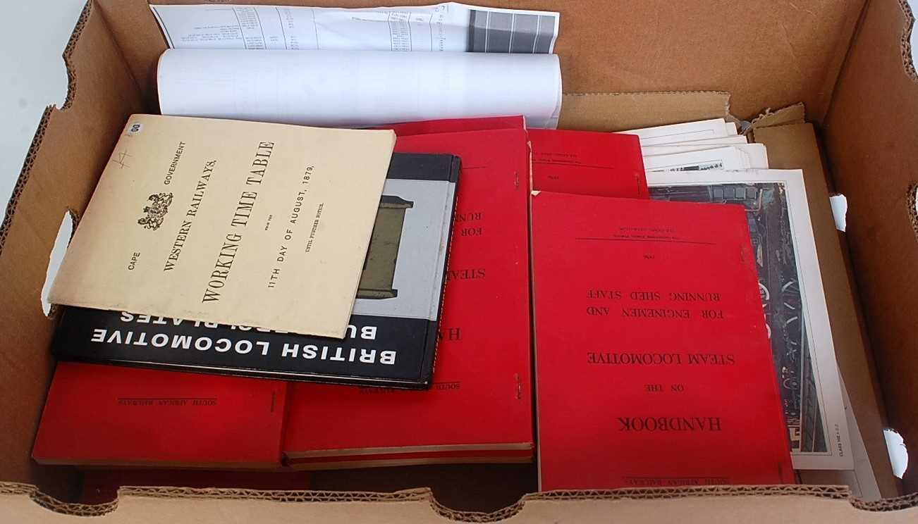 Lot 11-One box containing a quantity of various railway...