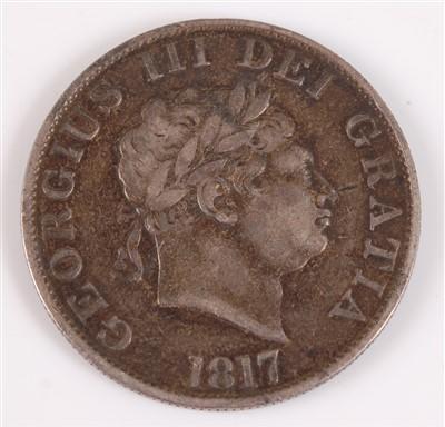 Lot 2005-Great Britain, 1817 half crown