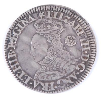 Lot 2017-England, 1562 sixpence