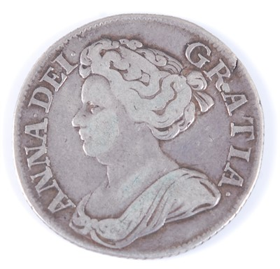 Lot 2018-Great Britain, 1711 shilling