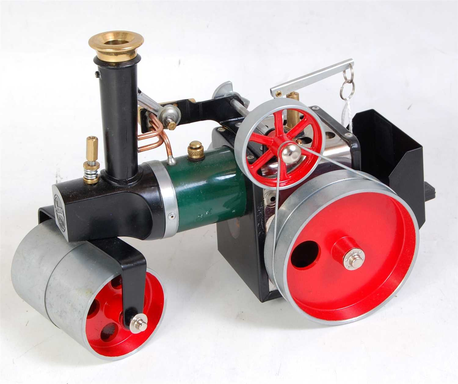 Lot 12-A Mamod SR1A loose steam roller, comprising of...