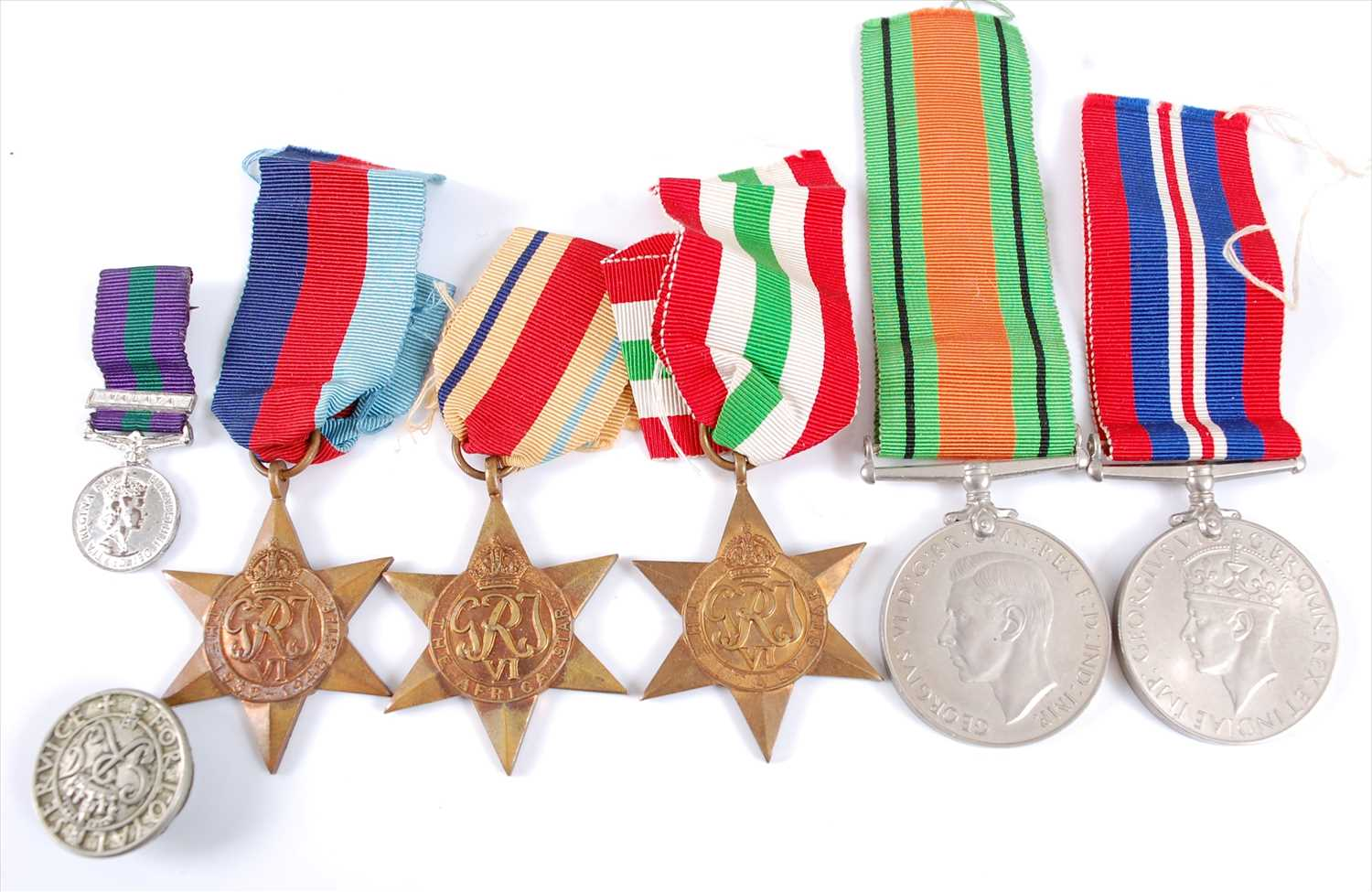 Lot 23 - A WW II group of five to include