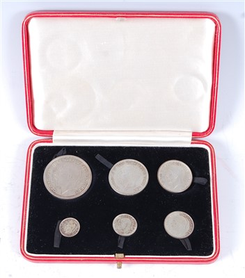 Lot 2020-Great Britain, 1927 silver six coin proof set