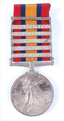 Lot 1-A Queen's South Africa medal, (1899-1902)