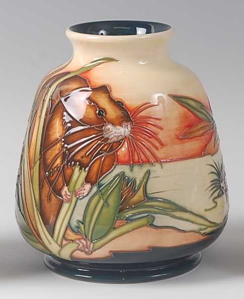 Lot 3-A limited edition modern Moorcroft pottery vase...