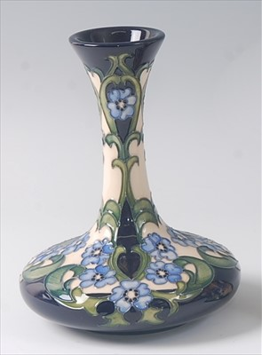 Lot 5-A modern Moorcroft pottery vase in the Florence...