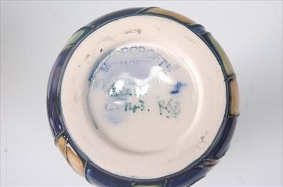 Lot 7 - A modern Moorcroft pottery ewer in the Walnut...