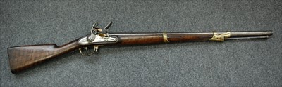Lot 5-A 19th century French flintlock carbine