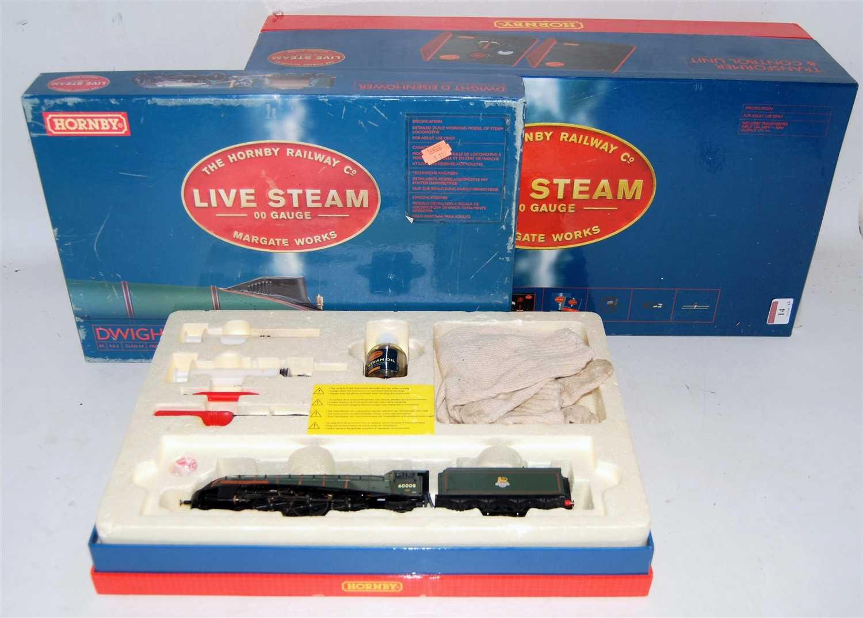 Lot 14-A Hornby live steam 00 gauge No. R2277 Dwight D...