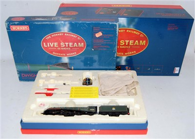 Lot 14-A Hornby live steam 00 gauge No. R2277 Dwight D...