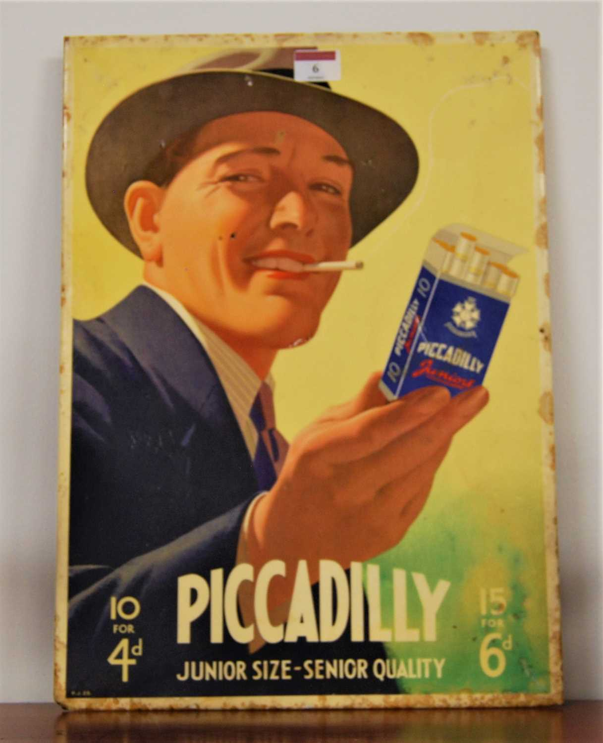 Lot 6-A mid 20th century advertising sign for...