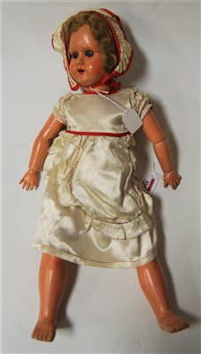 Lot 10-A mid 20th century continental celluloid doll...