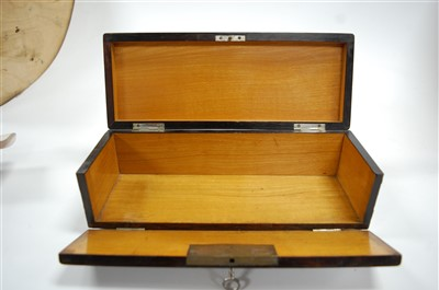 Lot 26-An early 20th century continental rosewood and...